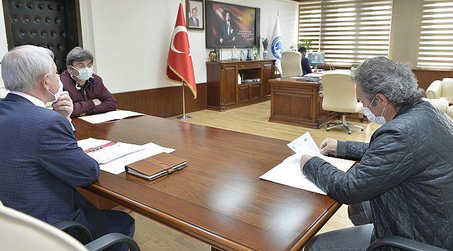 Senato Toplantısı KMÜ'de Video Konferansla Yapıldı